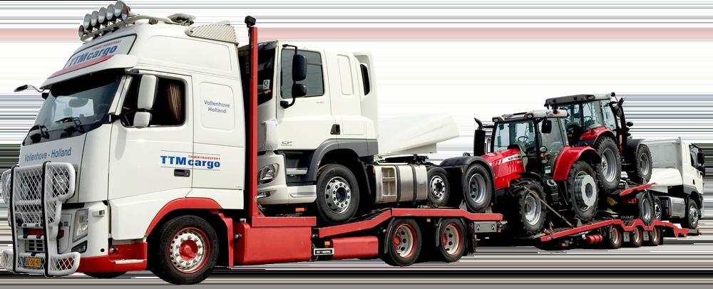 Transporting Trucks Across Europa
